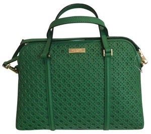 Kate Spade Rachelle Satchel in Sprout Green