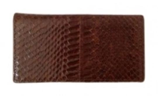Snake Skin Genuine Snake Skin Checkbook Cover