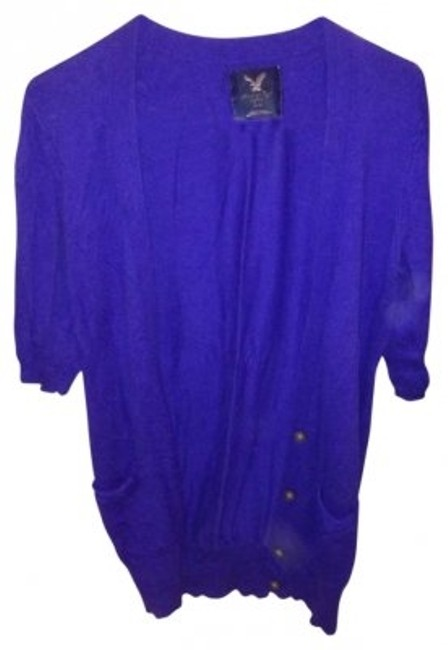 Preload https://img-static.tradesy.com/item/130430/american-eagle-outfitters-cobalt-blue-cardi-sweaterpullover-size-6-s-0-0-650-650.jpg