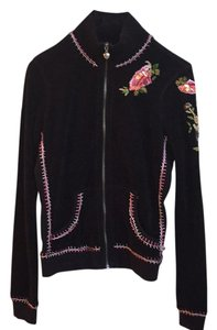Twisted Heart Beaded Sequin Embroidered Jacket