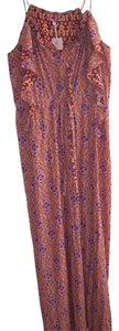 Coral, Lavender, Blue Maxi Dress by Calypso St. Barth St. Maxi New