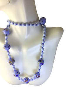 Other Light blue Glass beaded necklace Mint