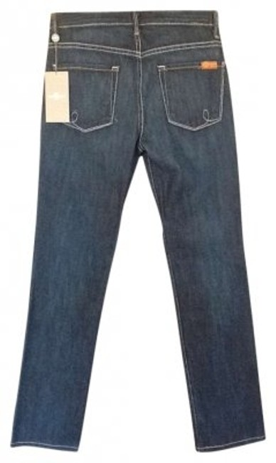 Preload https://img-static.tradesy.com/item/130434/7-for-all-mankind-dark-denim-rinse-straight-leg-jeans-size-25-2-xs-0-0-650-650.jpg