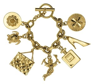 Chanel Chanel Vintage 7 Icon Lucky Charm Bracelet