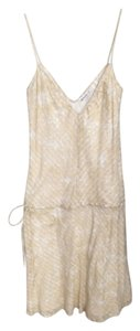 Cream and White Maxi Dress by Ben Sherman