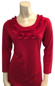 Kim Rogers Top Red
