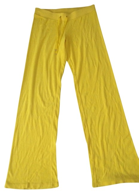 Item - Yellow Comfy Activewear Bottoms Size 10 (M, 31)