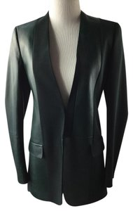 Akris Green Leather Jacket