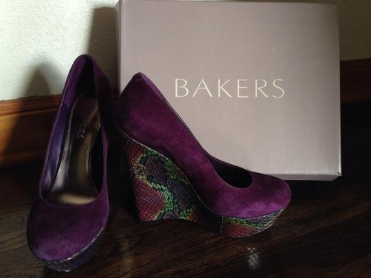 Bakers Purple Wedges