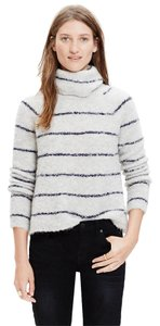 Madewell Turtleneck Striped Sweater