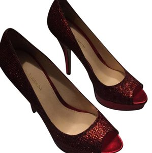 Enzo Angiolini Red Platforms