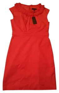 Ted Baker short dress dark orange on Tradesy