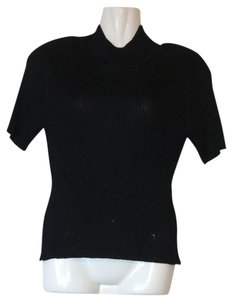 Christine Phillipe Co. Shimmering Mock Turtleneck Sweater