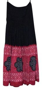 Other short dress Black/red/white on Tradesy