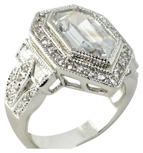 Other New 8.26TCW Pentagon Cut Vintage Style Stunning Ring Sz 8