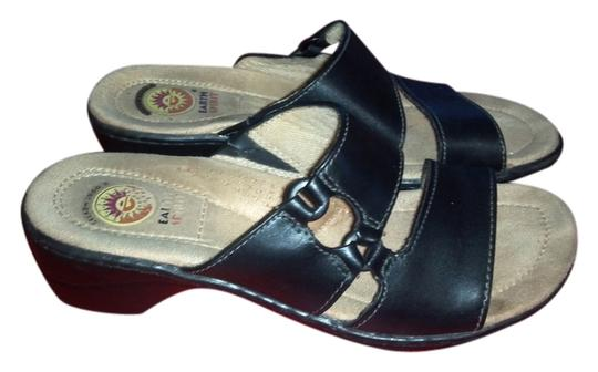 Earth Spirit Black Flats