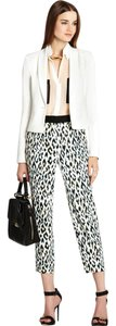 BCBGMAXAZRIA White Womens Jean Jacket