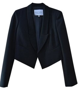 Rachel Roy Work Outfit Fitted Black Blazer