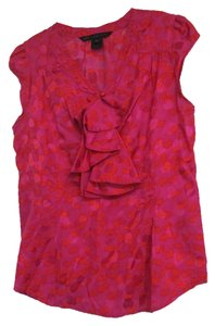 Marc by Marc Jacobs Top Pink and Red