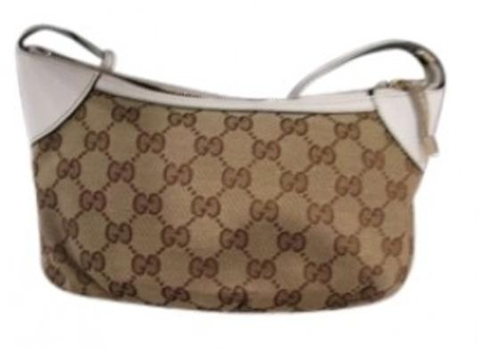 Preload https://img-static.tradesy.com/item/130476/gucci-description-signature-brownwhite-jacquard-baguette-0-0-540-540.jpg