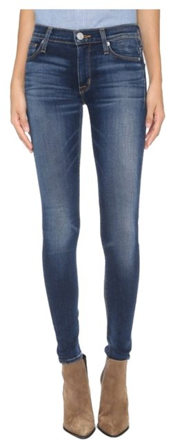 Item - Blue Gold Medium Wash Nico Midrise Super Skinny Jeans Size 26 (2, XS)