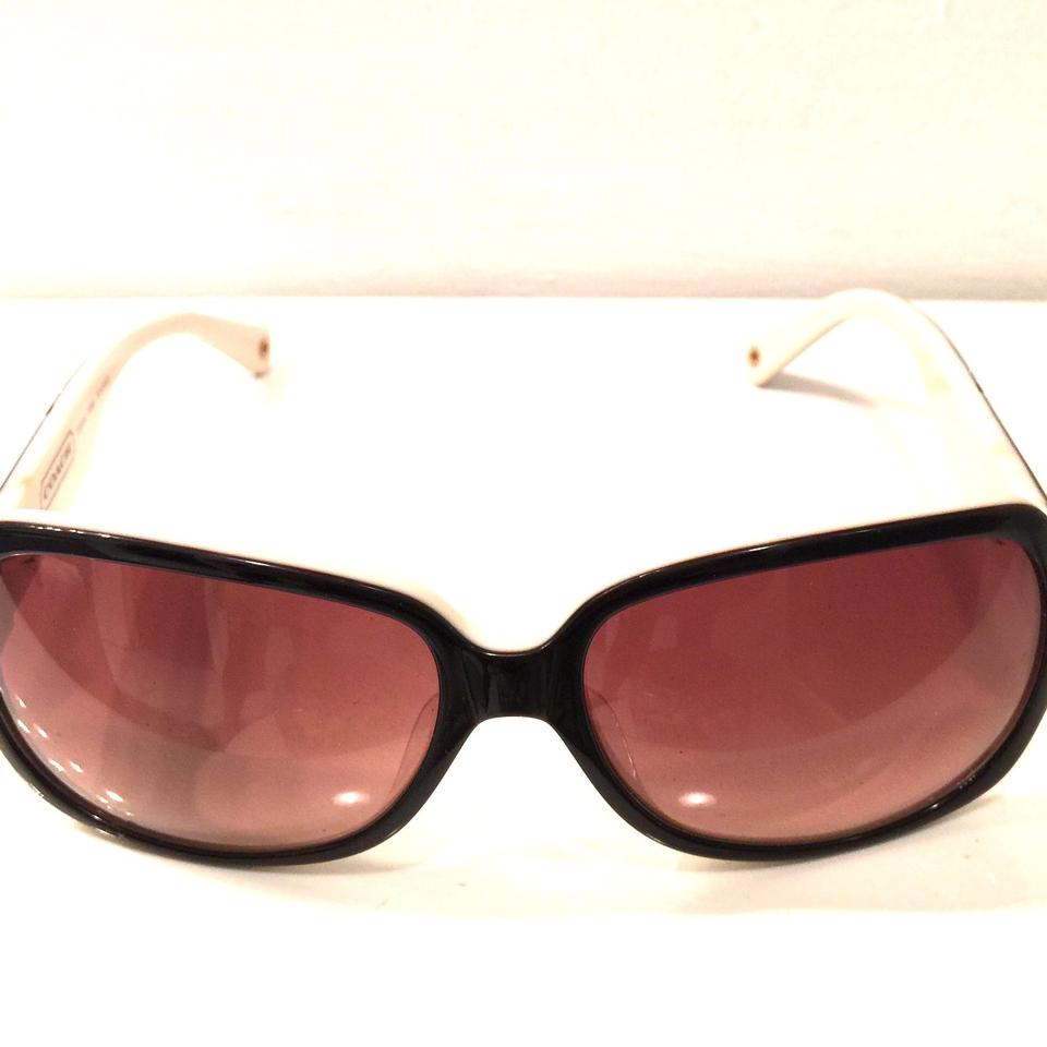 99b0c4b6a8669 Coach Brown Round Gradien Lenses Sunglasses - Tradesy