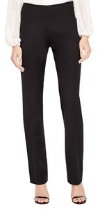 Elie Tahari Work Pant Straight Pants Black