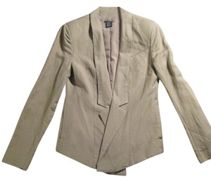 Central Park West Beige Blazer