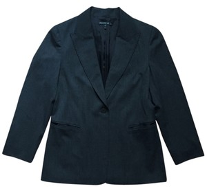 Lafayette 148 New York Charcoal Grey Blazer