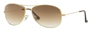 """Ray-Ban RAY-BAN SUNGLASSES """"cockpit"""" RB 3362 LIGHTWEIGHT GOLD METAL & BROWN GRADIENT LENS """"FREE 3 DAY SHIPPING"""""""