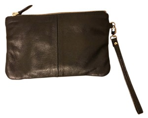 Butler Basics Charger Leather Soft Black Clutch