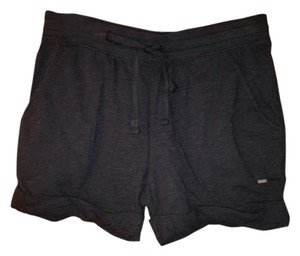 Victoria's Secret Pink Cuffed Shorts Black