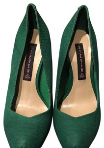 Steven by Steve Madden Green Platforms