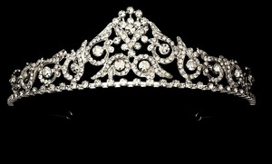Bella Tiara Vintage Godes Antique Wedding Tiara