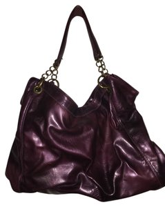 Maurices Distressed Leather Boho Shoulder Bag