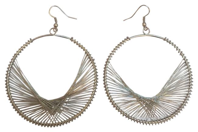 Silver Tone And Earrings Image 1