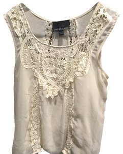 Cynthia Rowley Top Off- white
