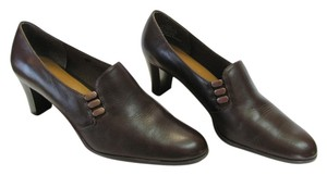 LifeStride Size 7.50 M. (usa) Leather Brown Pumps