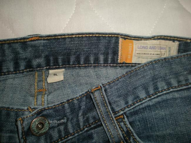 Gap Classic 5 Pocket Style *zip Fly *cotton/Spandex *machine Washable *whiskering Detail Boot Cut Jeans-Medium Wash