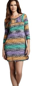 Missoni short dress Multi Zigzag Resort Beach on Tradesy
