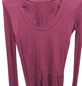 French Connection Top Plum