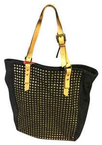 Kelsi Dagger Tote in Black/Gold