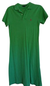 Polo Ralph Lauren short dress Green on Tradesy