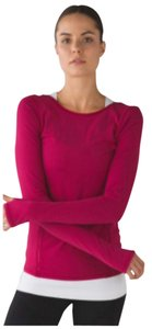 Lululemon New With Tags Lululemon Align And Define Long Sleeve, Size 4 Berry Rumble