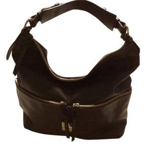 Dooney & Bourke Pebbled Leather Large Hobo Shoulder Bag