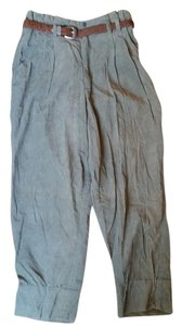 Emporio Gitano Vintage Chic Wide Leg Pants Olive green