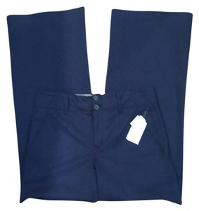 Vince Wide Leg Pants Navy Blue