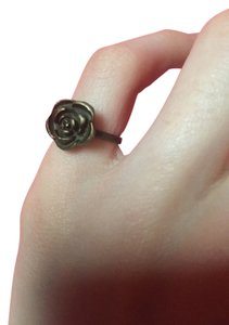 Other New Rustic Bronze Color Rose Ring - NWOT