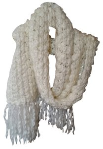 Other Soft White Knit Scarf