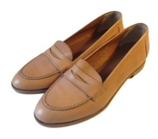 Preload https://img-static.tradesy.com/item/130556/madewell-camel-beige-leather-penny-loafer-flats-size-us-9-0-0-540-540.jpg